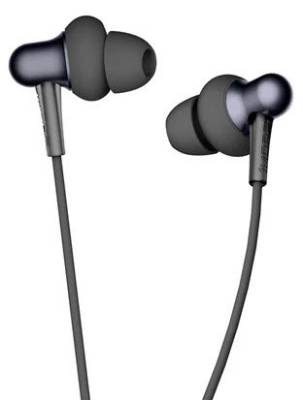 E1025-BLK 1MORE STYLISH Dual Driver Black In-Ear Stereo Wired Headset with Ergonomic Tangle-free Design