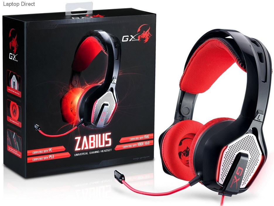 GX-HS-G850 Genius GX Zabius Universal Gaming Headset and Mic ... 78dfcd54f6