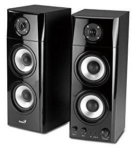 317-30908100 Genius HF1800A Stereo 2.0 Channel Three Way Speaker System
