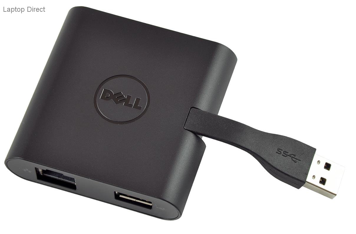 492 Bbnu Dell Adapter Usb 30 To Hdmi Vga Ethernet 20 Audio Dongle