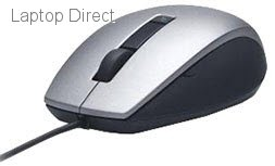 5beccbba263 NBDE570-11349 Dell Laser Scroll USB (6 buttons scroll) Silver & Black Mouse