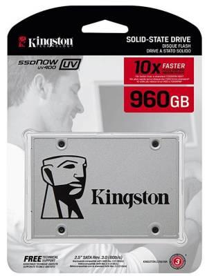 """Kingston SSD A400 240 GB Drive a Stato Solido 2.5/"""" SATA 3"""