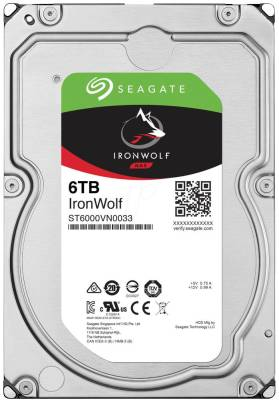 "ST6000VN0033 Seagate Ironwolf 6TB 3.5"" 7200rpm SATA 6Gb/s 256mb Cache Hard Drive"