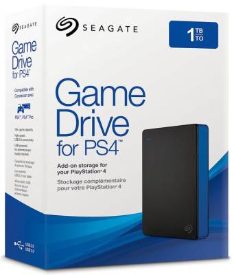 Stgd1000100 Seagate Expansion Portable Game Drive Black 1tb 2 5 Usb 3 0 External Hard Drive Compatible With Ps4 Ps4 Slim And Ps4 Pro Laptop Direct
