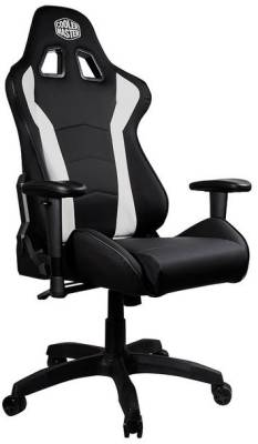 CMI-GCR1-2019W Cooler Master Caliber R1 Black Gaming Chair with White Chair