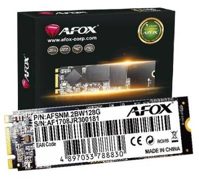AFM23T3BN120G AFOX 120GB M 2 2280 NVME SSD Solid State Drive