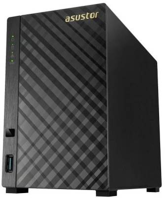 AS1002T v2 Asustor AS1002T v2 Marvell ARMADA-385 Dual Core 2 bay Network Attached Server
