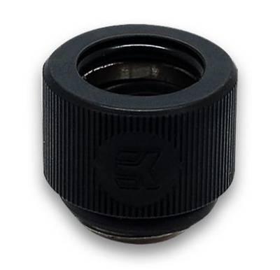 EK_HDC_12_BLACK EKWB Hardline Compression Fitting with Black