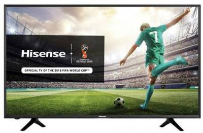 "HISENSE LEDN43N3000UW HiSense 43N3000UW 43"" Ultra HD Direct LED Backlit Smart TV *TV license*"