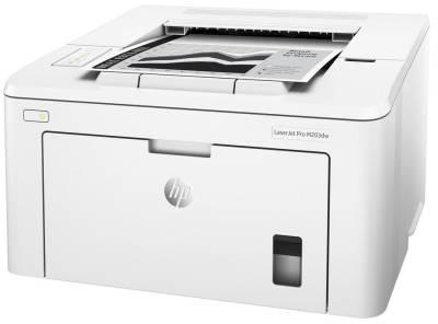 PRHPG3Q47A HP G3Q47A Laserjet Pro M203DW Mono Laser Printer
