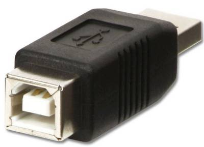 ADA-USB-AM-BF Lindy USB A Male to B Female Adapter