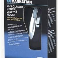 177016 Manhattan Products Optical Desktop Usb Mouse