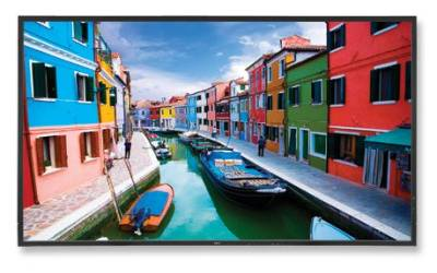 "60003394 NEC V463 46"" High-Performance LED-Backlit Commercial-Grade Display with Integrated Speakers"