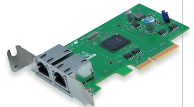 Supermicro AOC-PG-I2 Dual Port Low Profile Gigabit Ethernet PCI-E NIC X4 GBE