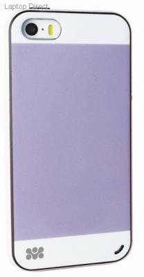 6959144004655 Promate Grosso-i5 Purple iPhone 5 Striped Flexi-Grip Snap Case