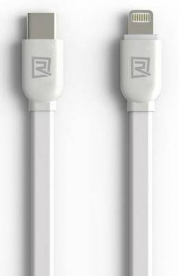 CAB-USB-CM-LIG-1M-R Remax RC-037A White 1m USB Type-c M To Light Cable