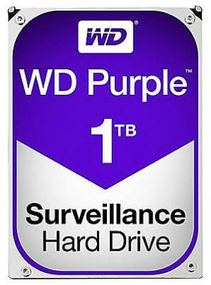"WD10PURZ Western Digital Purple 1TB 3.5"" SATA3 (6Gb/s) Surveillance HDD"