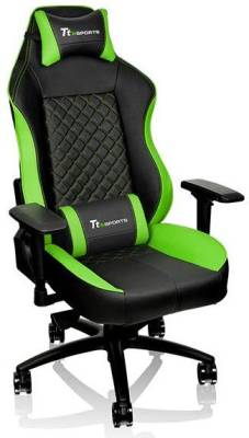 GC-GTC-BGLFDL-01 Thermaltake GT Comfort 500 Black & Green Gaming Chair