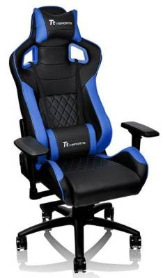 GC-GTF-BLMFDL-01 Thermaltake Gt Fit 100 Black & Blue Gaming Chair