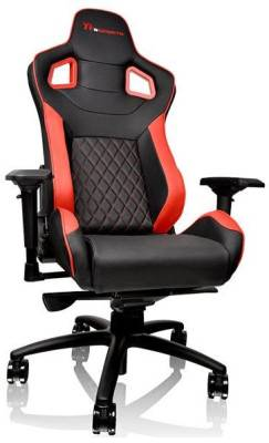 GC-GTF-BRMFDL-01 Thermaltake GT Fit 100 Black & Red Gaming Chair