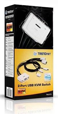 TK-217i Trendnet TK-217i 2-port USB KVM Switch