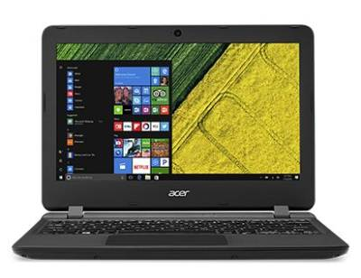 "NX.GGLEA.006 Acer Aspire ES1-132 Notebook Celeron Dual N3350 1.10Ghz 2GB 32GB 11.6"" WSVGA IntelHD BT Win 10 Home"