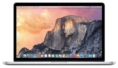 "MJLQ2 Apple 15.4"" MacBook PRO Retina 2015 Notebook Intel Quad i7 2.20Ghz 16GB 15.4"" Iris Pro BT macOS Sierra"