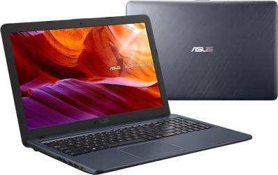 "X543MA-GQ753T Asus VivoBook X543MA Notebook Celeron Dual N4000 1.10Ghz 4GB 500GB 15.6"" WXGA HD UHD 600 BT Win 10 Home"