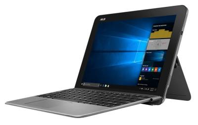"T103HAF-GR057R Asus Transformer Book T103HAF Detachable Notebook Atom Quad Core x5-Z8350 1.44Ghz 4GB 64GB 10.1"" WXGA IntelHD BT Win 10 Pro"