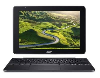 "NT.LEDEA.001 Acer One S1003 Notebook Tablet Atom Quad Core x5-Z8350 1.44Ghz 4GB 64GB 10.1"" WXGA IntelHD BT Win 10 Pro"