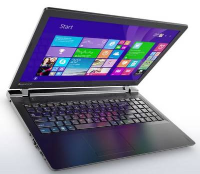 "80T700AMSA Lenovo IdeaPad 110 Notebook Celeron Dual N3060 1.60Ghz 2GB 500GB 15.6"" WXGA HD IntelHD BT Win 10 Home"