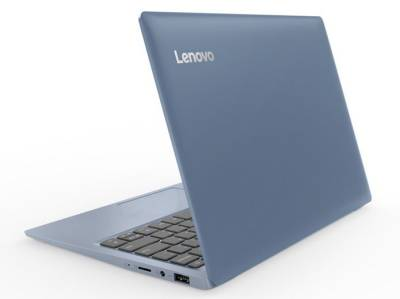 "120s 81A40085SA Lenovo IdeaPad 120s Mini Notebook Celeron Dual N3350 1.10Ghz 2GB 32GB 11.6"" WXGA HD IntelHD BT Win 10 Home"