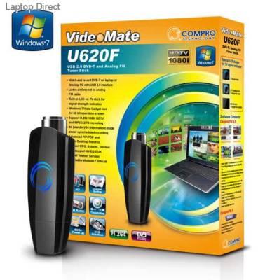 TT CU620F TT CU620F Videomate U620F Compro Usb Tv Tuner With