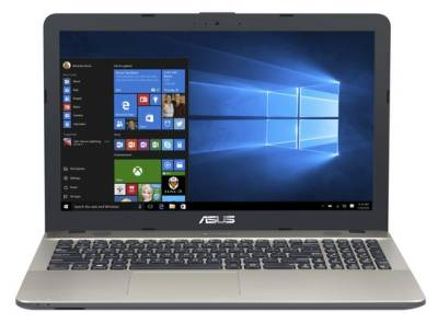 "ASUS F541SA-XO212T Asus F541SA Notebook Celeron Dual N3060 1.60Ghz 4GB 500GB 15.6"" WXGA HD IntelHD BT Win 10 Home"